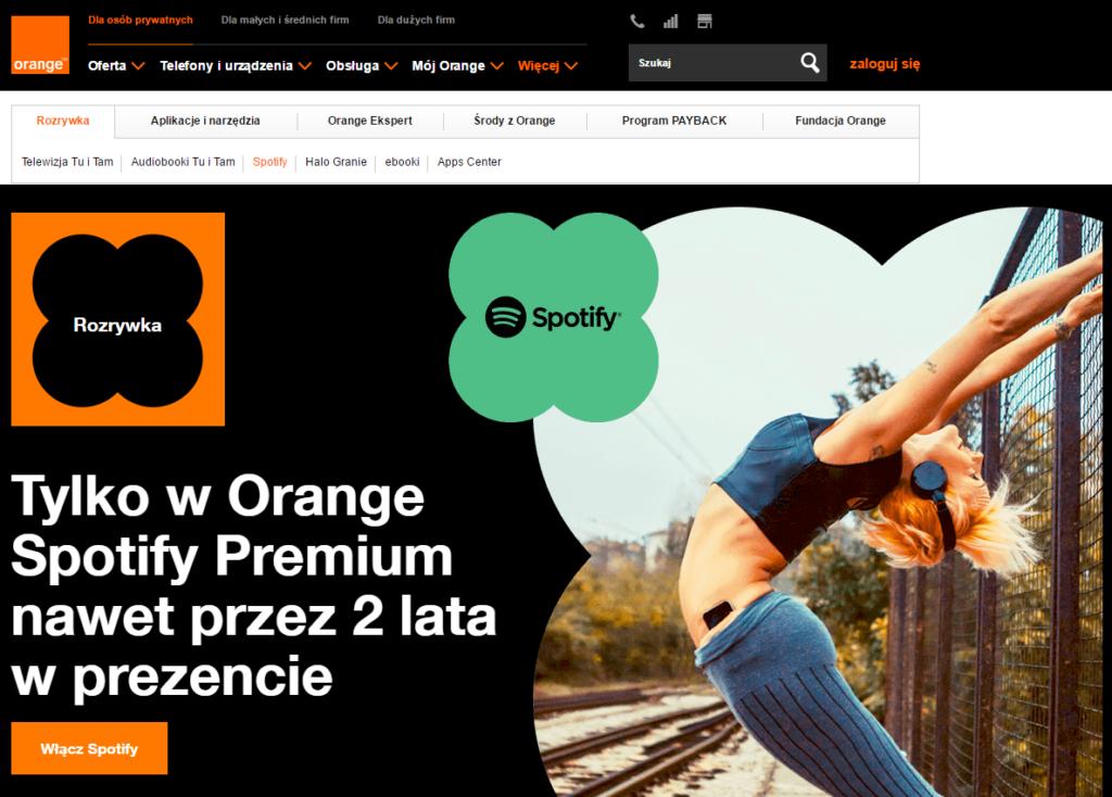 orange-spotify